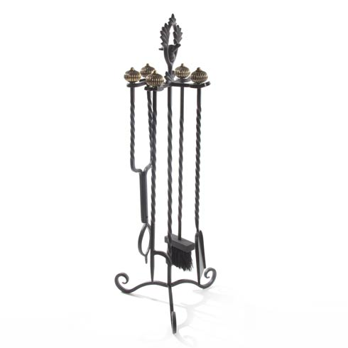 $475.00 Mrs. Powers Fireplace Tool Set