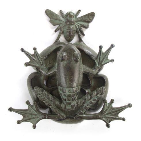 Frog & Bee Door Knocker