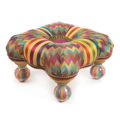$1,395.00 Kaleidoscope Footstool