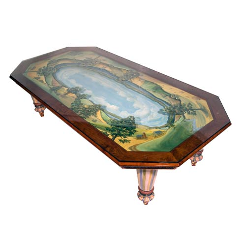 $25,000.00 Diorama Dining Table For 6