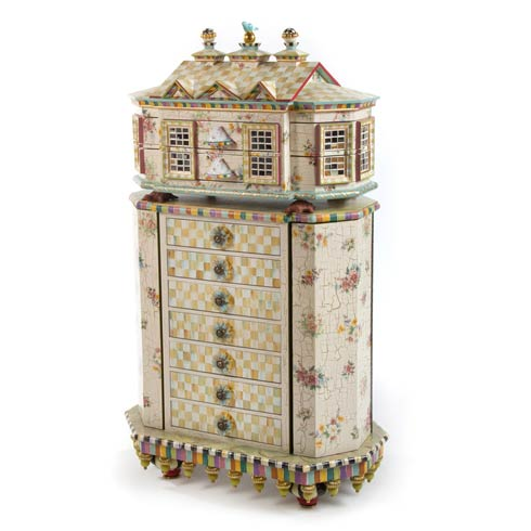 $9,750.00 Chicken Palace Jewelry Armoire