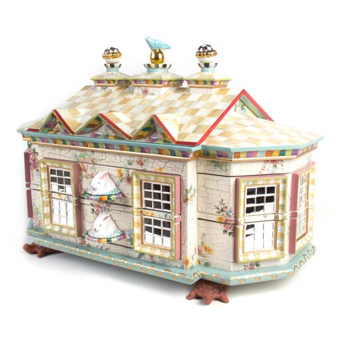 $3,975.00 Chicken Palace Jewelry Box