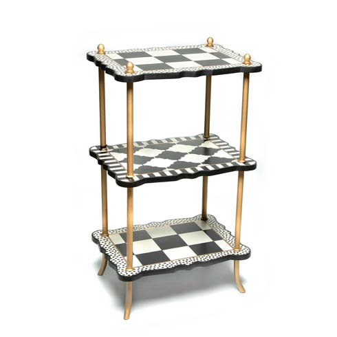 $298.00 Courtly Three Tier Table