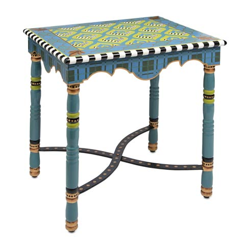 $525.00 Madras Accent Table