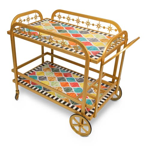 $1,595.00 Ogee Bar Cart