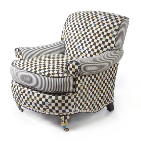 $3,975.00 Courtly Check Underpinnings Club Chair