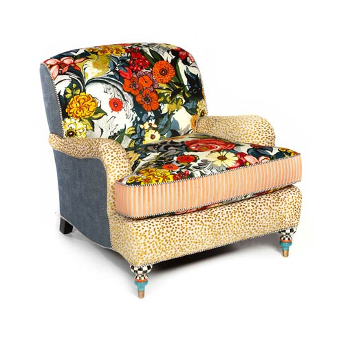 $5,495.00 Painted Garden Accent Chair