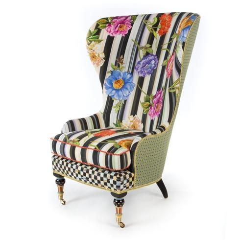 $4,695.00 Cutting Garden High Back Wing Chair