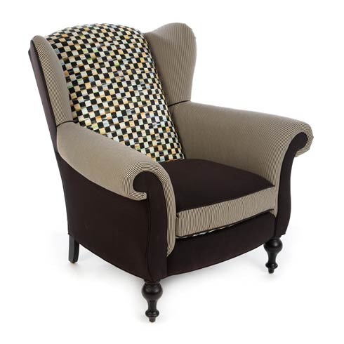 $3,995.00 Underpinnings Wing Chair - Black