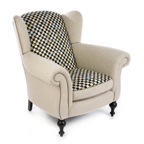 $3,995.00 Underpinnings Wing Chair - Flax