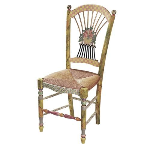 $2,295.00 Light Flower Basket Side Chair