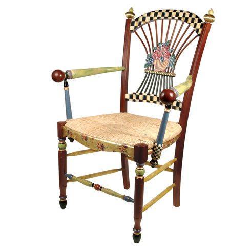 $2,995.00 Dark Flower Basket Armchair