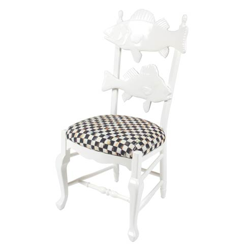 $1,595.00 Chair With Courtly Check Seat