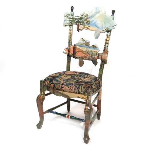 $2,295.00 Forest Fish Chair