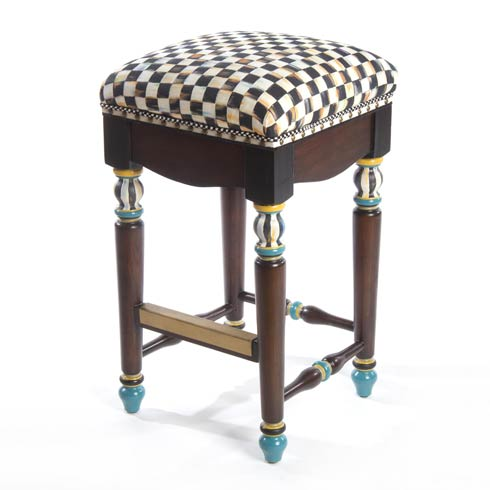 $1,795.00 Courtly Check Underpinnings Counter Stool