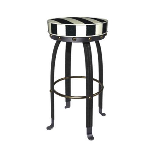 $895.00 Flatiron Counter Stool - Black