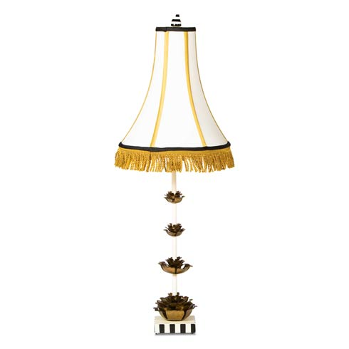$498.00 Tiered Rose Table Lamp
