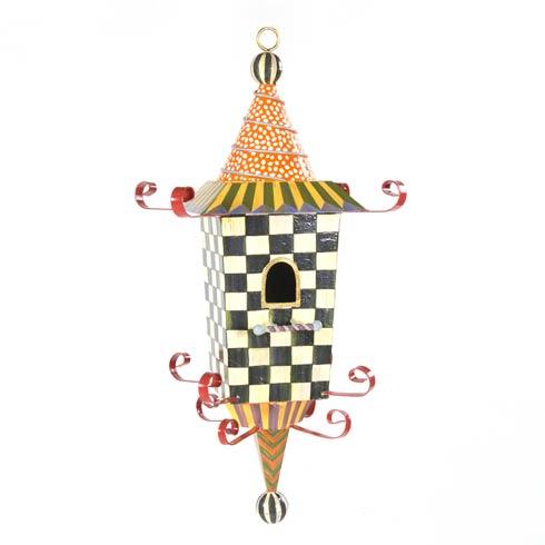 MacKenzie-Childs  Garden Pagoda Birdhouse $225.00