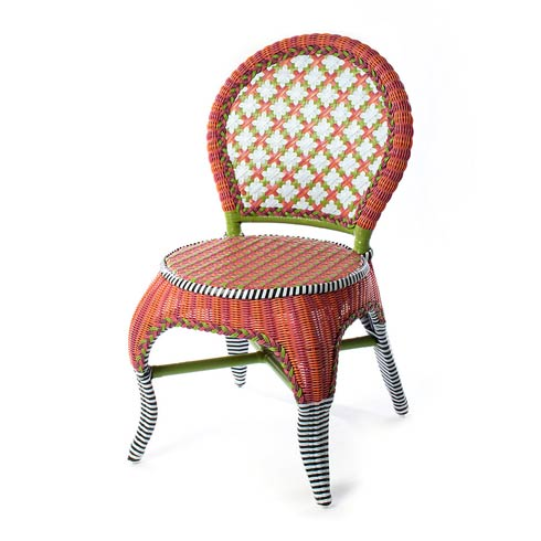 $795.00 Breezy Poppy Outdoor Cafe Chair