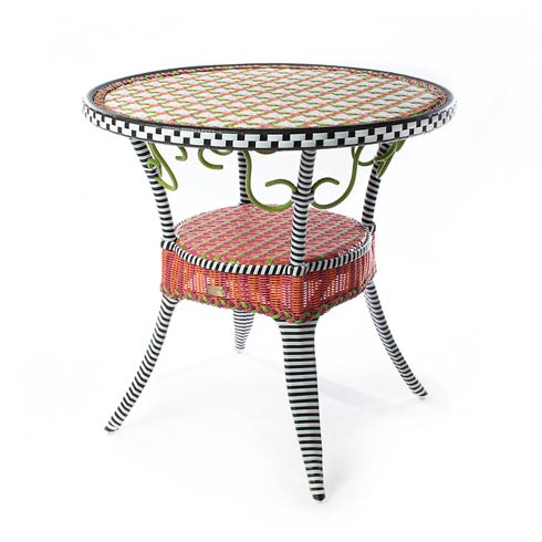 $995.00 Breezy Poppy Outdoor Cafe Table