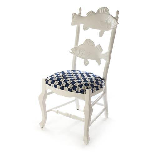 $1,295.00 Outdoor Fish Chair - Royal Check