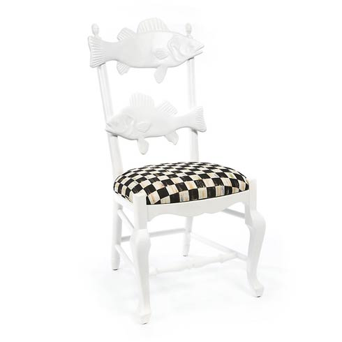 $1,295.00 Outdoor Fish Chair - Courtly Check