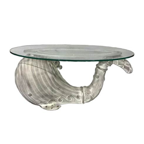 $995.00 The Great White Whale Table