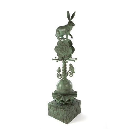 $695.00 Rabbit Garden Totem