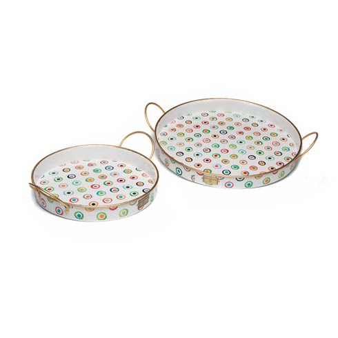 $98.00 Lunares Outdoor Trays - Set of 2