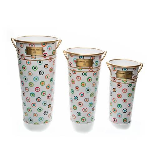 $78.00 Lunares Flower Buckets - Set of 3