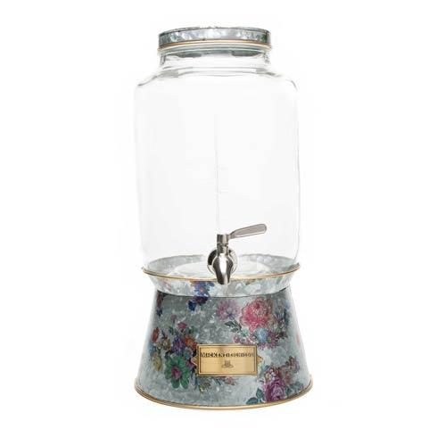 $125.00 Flower Market Galvanized Beverage Dispenser