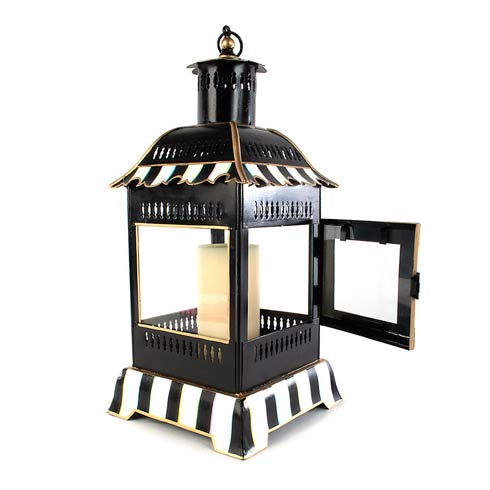 MacKenzie-Childs Glow Candleholders & Accessories Courtly Stripe Candle Lantern - Small $175.00