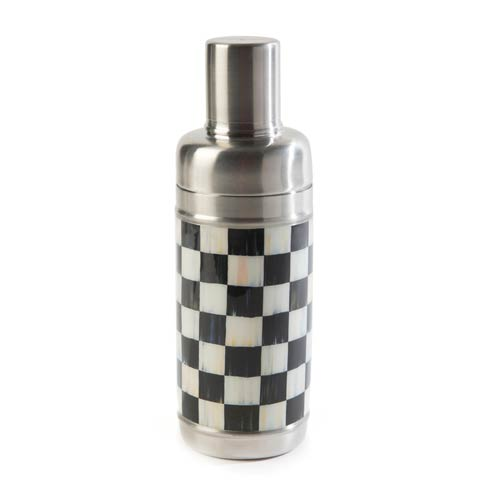 MacKenzie-Childs Courtly Check Tabletop 3260 Cocktail Shaker $48.00