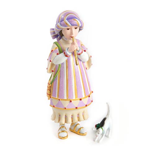 $68.00 Piping Girl With Kitten Figures