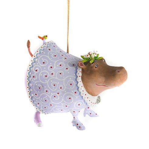 Helen Hippo Ornament