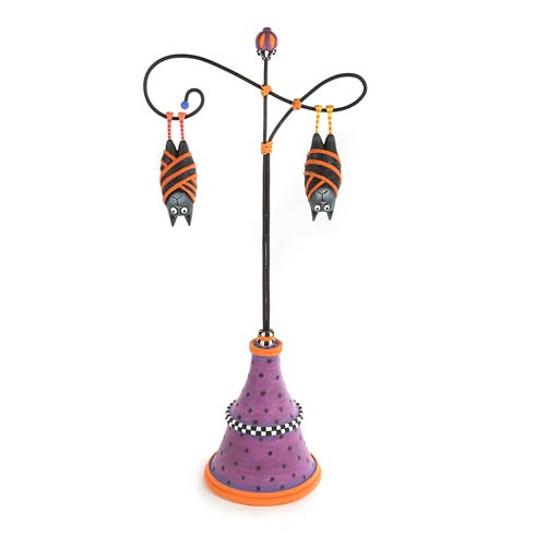 $145.00 Bart & Beatrice Bat Ornaments With Stand