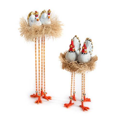 $78.00 Chicken & Dove Figures