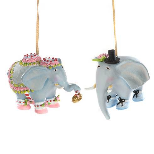 $48.00 Noah\'s Ark Elephant Mini Ornaments