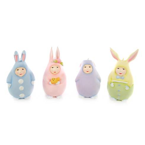 $68.00 Egg Bunny Ornaments - Set Of 4