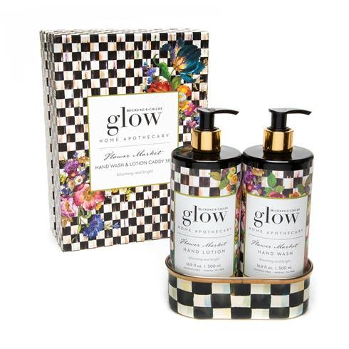 $78.00 Flower Market Soap & Lotion Caddy Set