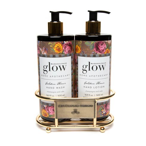 $78.00 Golden Hour Soap & Lotion Caddy Set