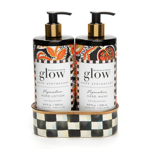 $78.00 Figmalion Soap & Lotion Caddy Set