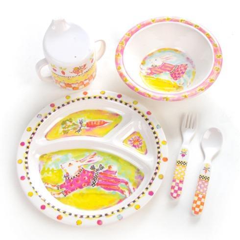 Toddler's Dinnerware Set - Bunny