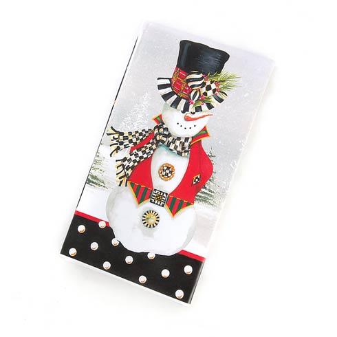 $8.95 Top Hat Snowman Paper Napkins - Guest