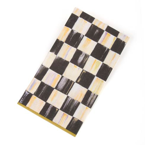 MacKenzie-Childs  Courtly Check Paper Napkins - Guest - Gold $8.95