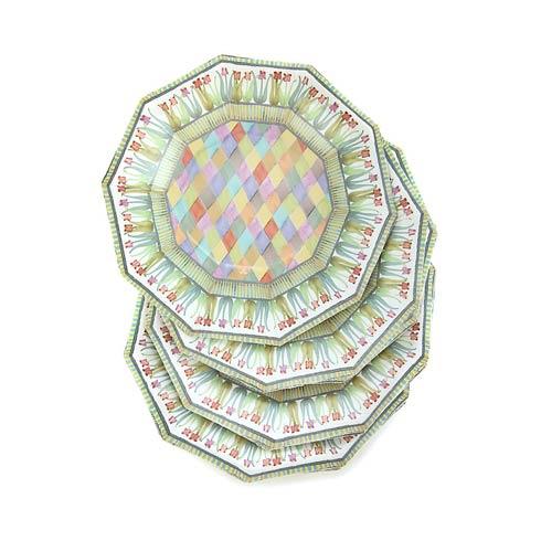 $5.95 Poplar Ridge Paper Plates - Salad/Dessert