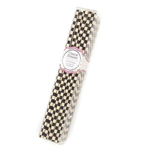 $4.25 Straws - Black & White