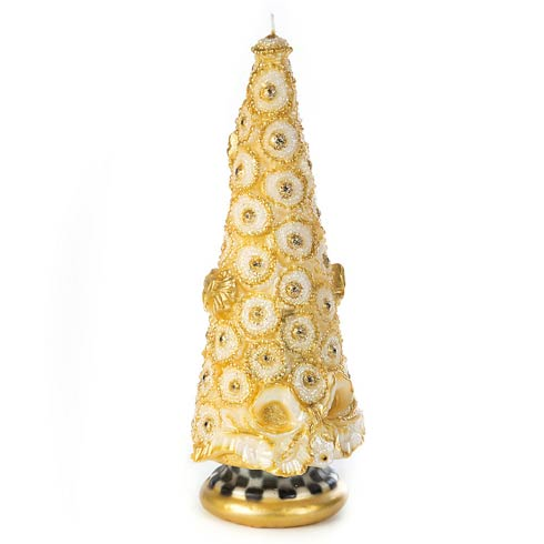 """$138.00 Golden Tree Candle - 12"""""""