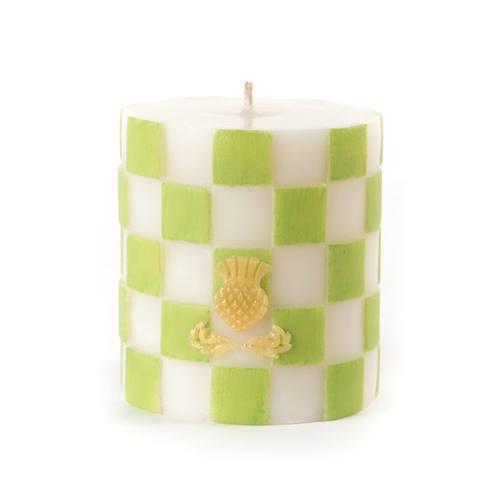 $30.00 Check Pillar Candle