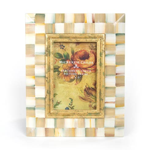$105.00 Parchment Check Frame - 4 In.  X 6 In.